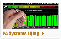 pa systems eqing