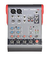 PROEL 6 Channel mixer