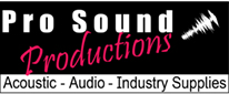 Pro Sound Productions - Audio Acoustic Industry Supplies